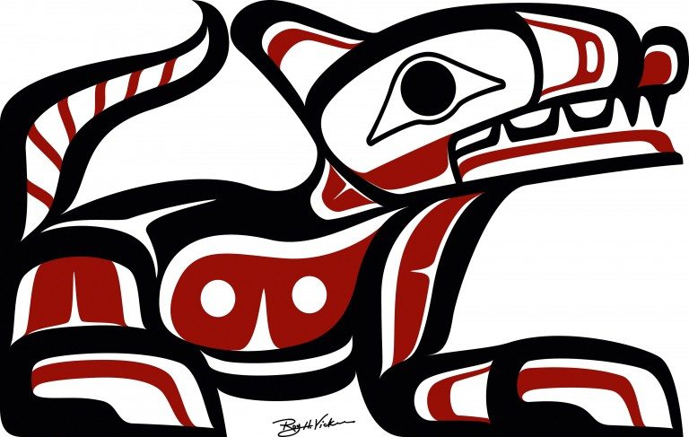 First Nations artwork by Roy Henry Vickers, hereditary chieftain, Tlakwagila from the House of Walkus in Owikeeno, British Columbia. www.royhenryvickers.com