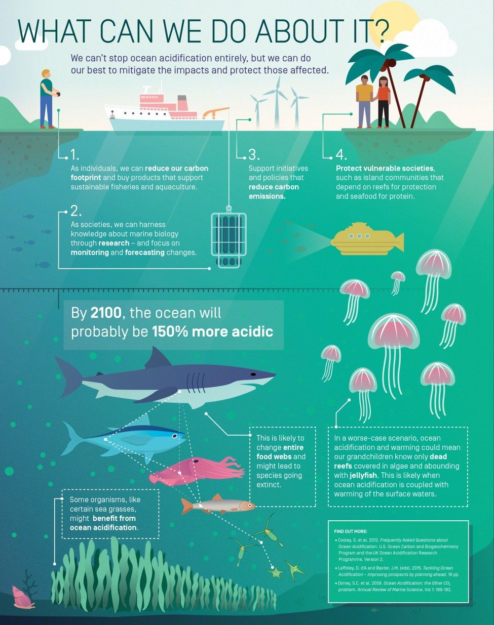 What can we do about Ocean Acidification?<br /> Infographic by Elzemiek Zinkstok | Lushomo for the Save Our Seas Foundation