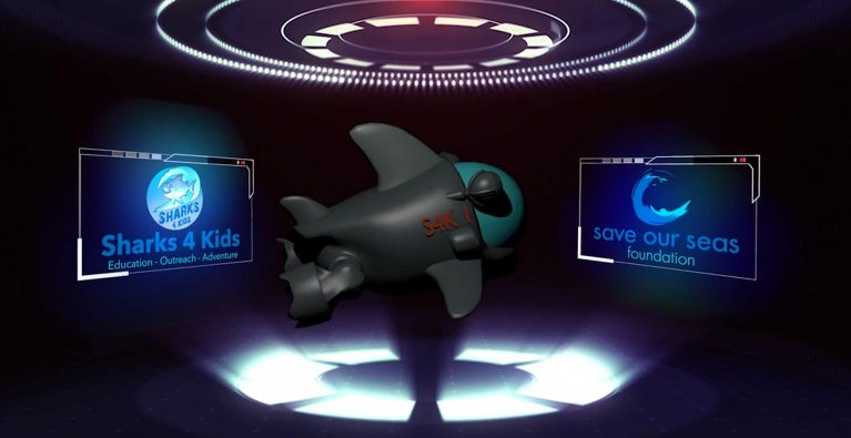 Snappy new App teaches kids about Sharks