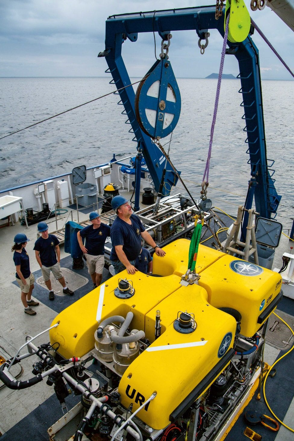 A host of technologies, like ROVs, allow scientists to explore deep-sea habitats. This kind of capacity is vital to monitor changes to life in the deepest reaches. While these parts of the oceans remain relatively unexplored, human exploitation in the form of deep-sea mining and fishing is quickly catching up to even the hardest-to-reach regions.<br />